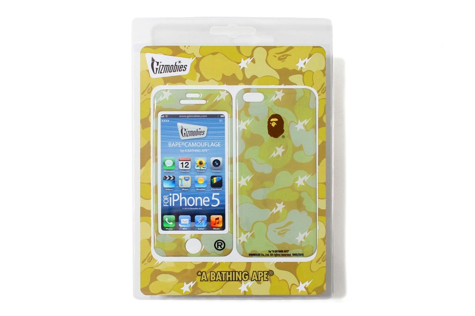 Image of A Bathing Ape x Gizmobies 2013 Spring/Summer iPhone 5 Protector