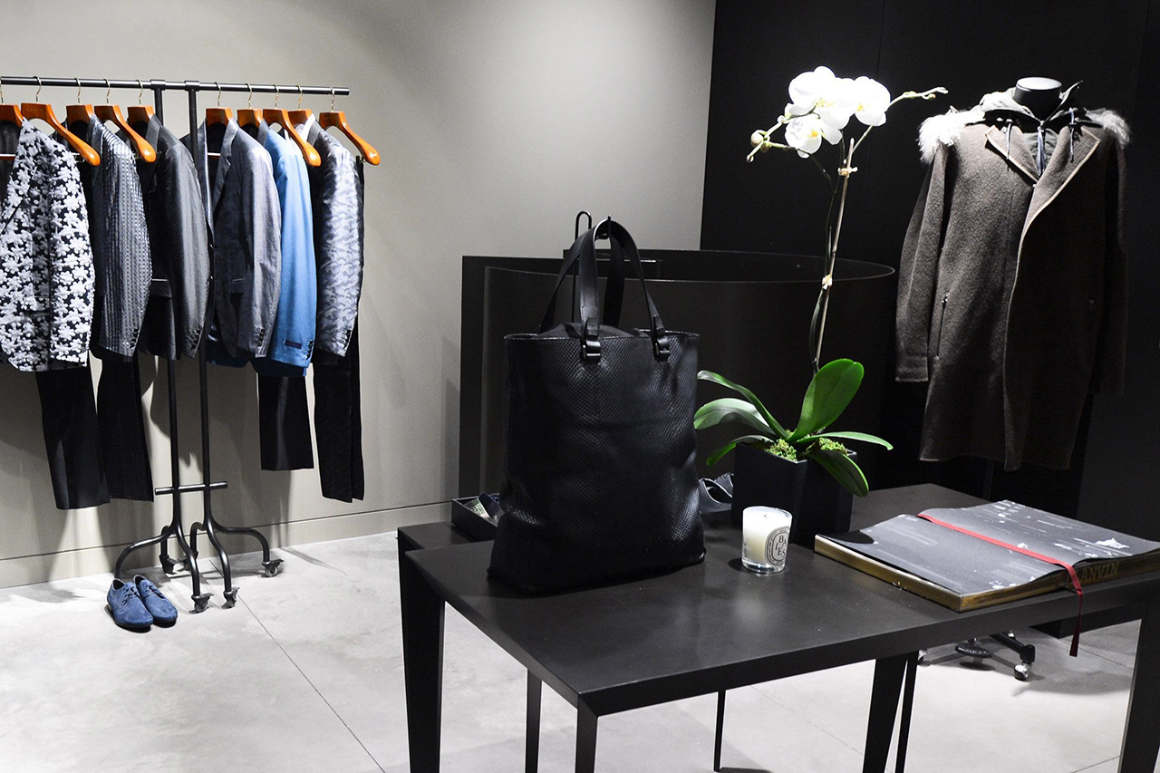 Image of A Look Inside Lanvin's Newly Opened New York City Men's Boutique