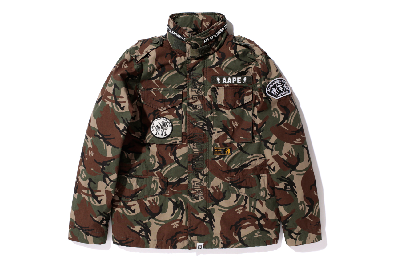 "Image of AAPE by A Bathing Ape 2013 Spring ""Foot Soldier"" Collection"