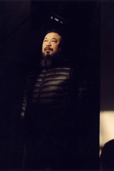 Image of Ai Weiwei In His Beijing Studio by Jamie Hawkesworth