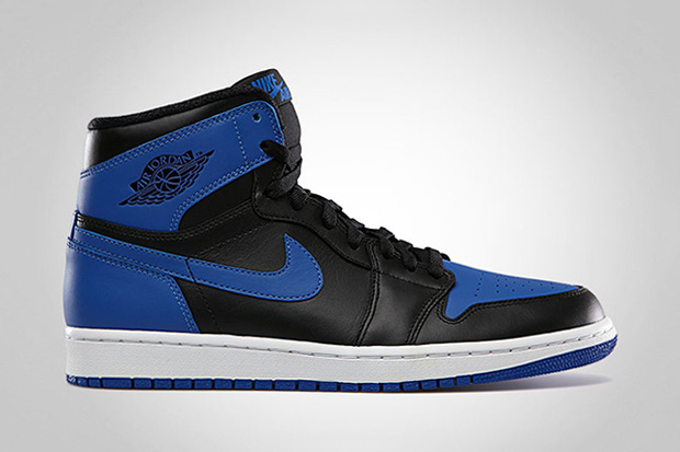 Image of Air Jordan 1 Retro High OG Black/Varsity Royal