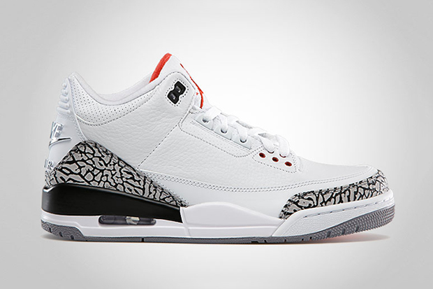Image of Air Jordan 3 Retro '88 White/Cement Grey
