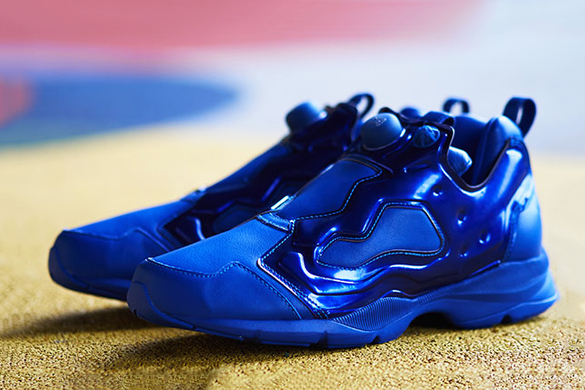Image of AMBUSH x Reebok Pump Fury HLS &quot;Metallic Blue&quot;