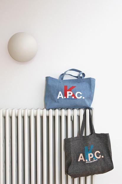 Image of A.P.C. Korea Tote Bags