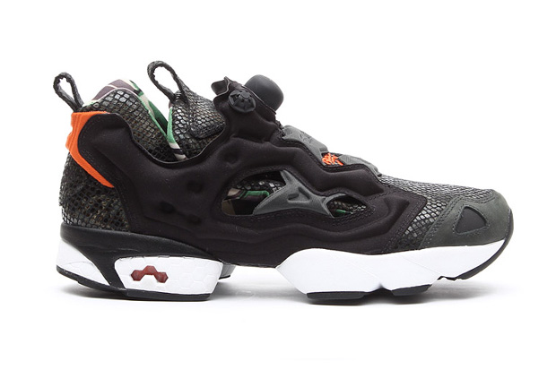 "Image of atmos x Reebok Pump Fury ""Snake/British Camo"""