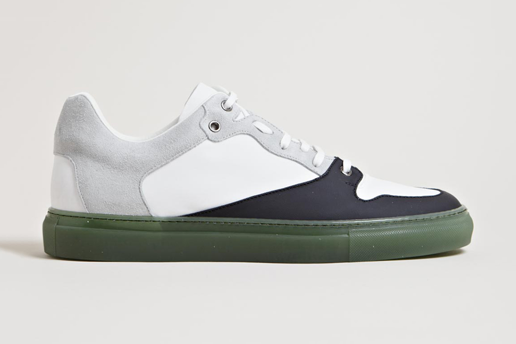 Image of Balenciaga 2013 Spring/Summer Contrast Panel Trainers