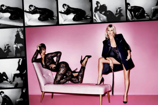 Image of Behind-the-Scenes of Kate Moss & Rihanna's V Magazine Shoot