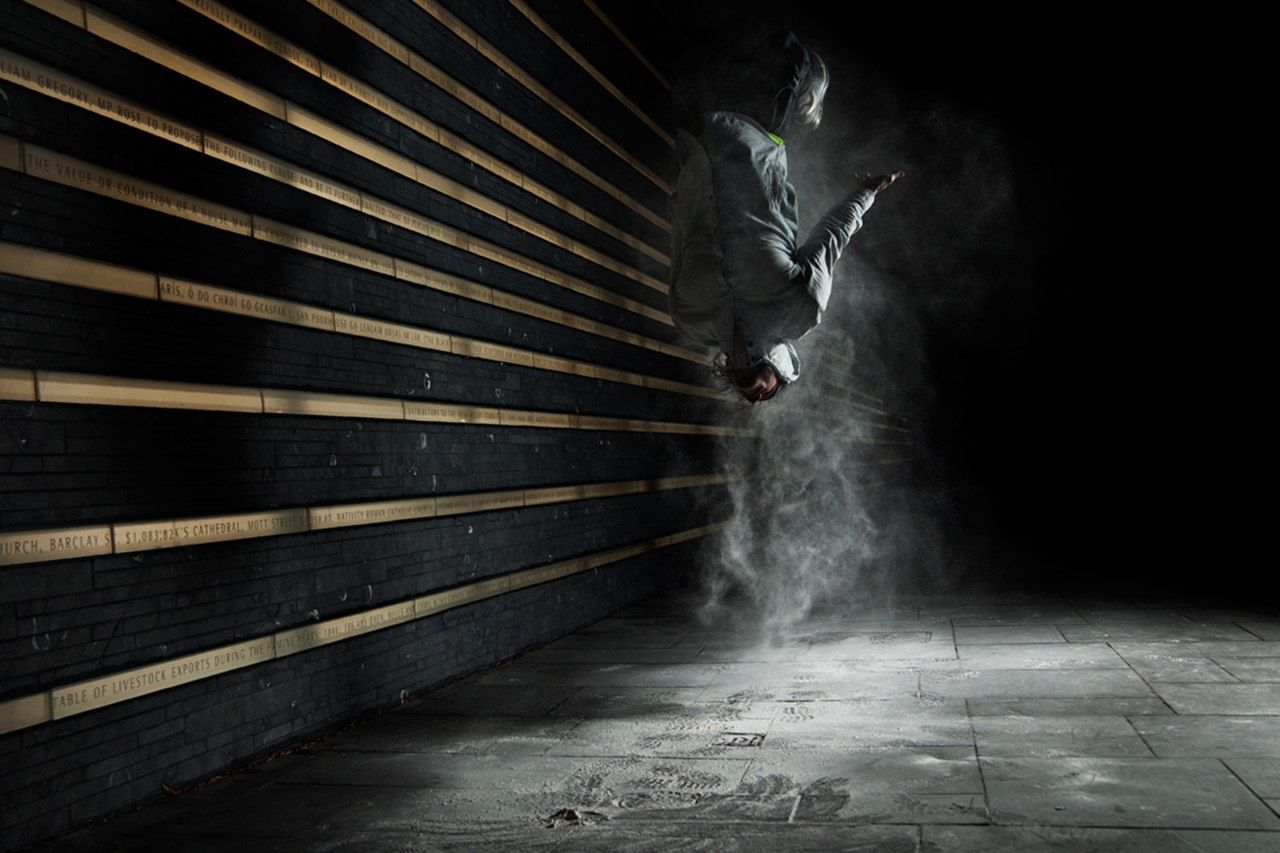 Image of Ben Franke Captures Parkour in Motion