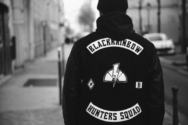 Image of BlackRainbow Varsity Jacket No.5