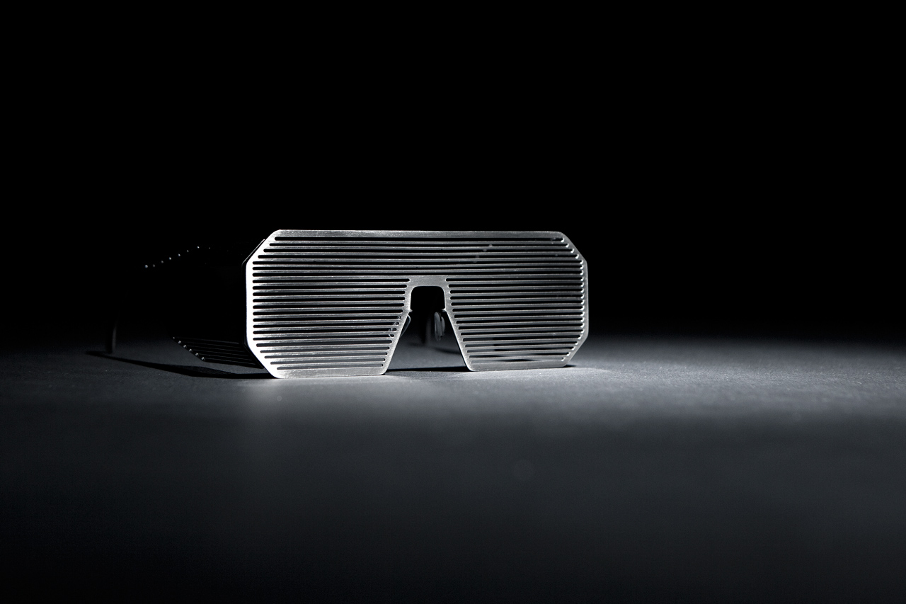 Image of Boris Bidjan Saberi x Linda Farrow Shutter Sunglasses -- A Closer Look