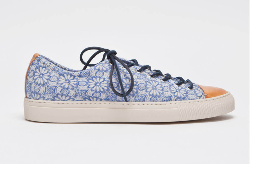 Image of Buttero Tanino Low Floral Blue