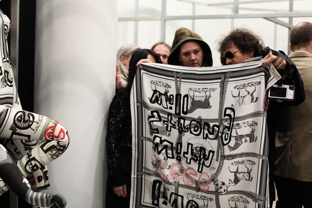 """Image of COMME des GARÇONS x Hermes """"Comme des Carrés"""" Collection's Event Recap"""