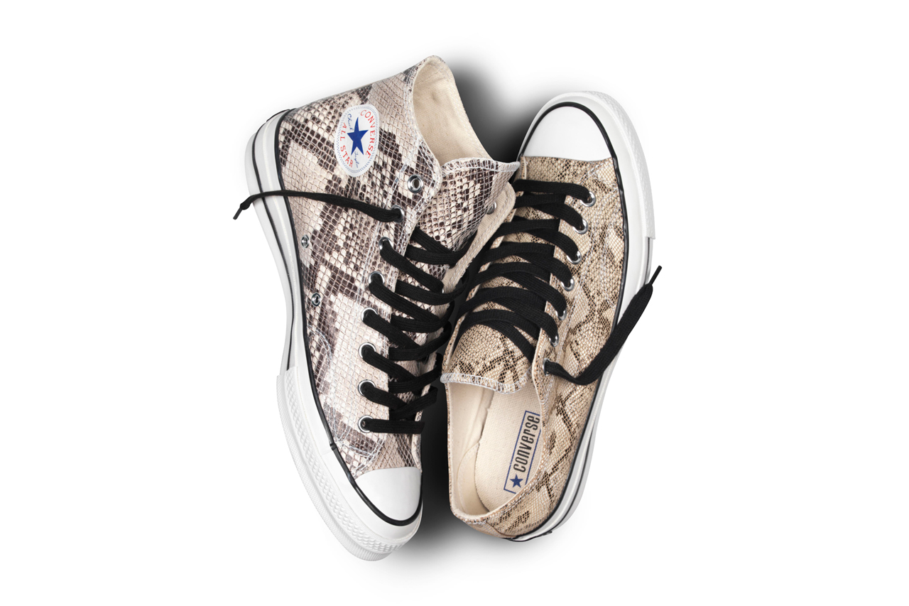 Image of Converse First String 1970s Chuck Taylor Snake Skin Pack