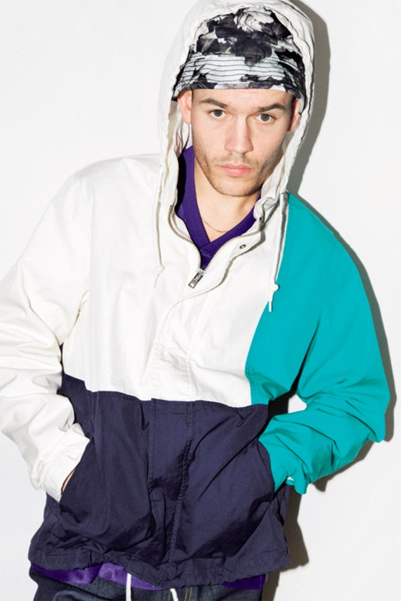 Image of COOL TRANS: Supreme 2013 Spring/Summer Collection Editorial featuring Nugget