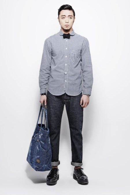 "Image of COVERNAT 2013 Spring/Summer ""Indigo Blossom"" Collection"
