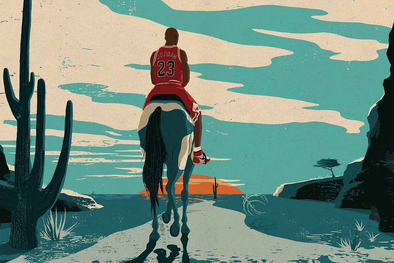 Image of ESPN's Outside the Lines: Michael Jordan Has Not Left the Building