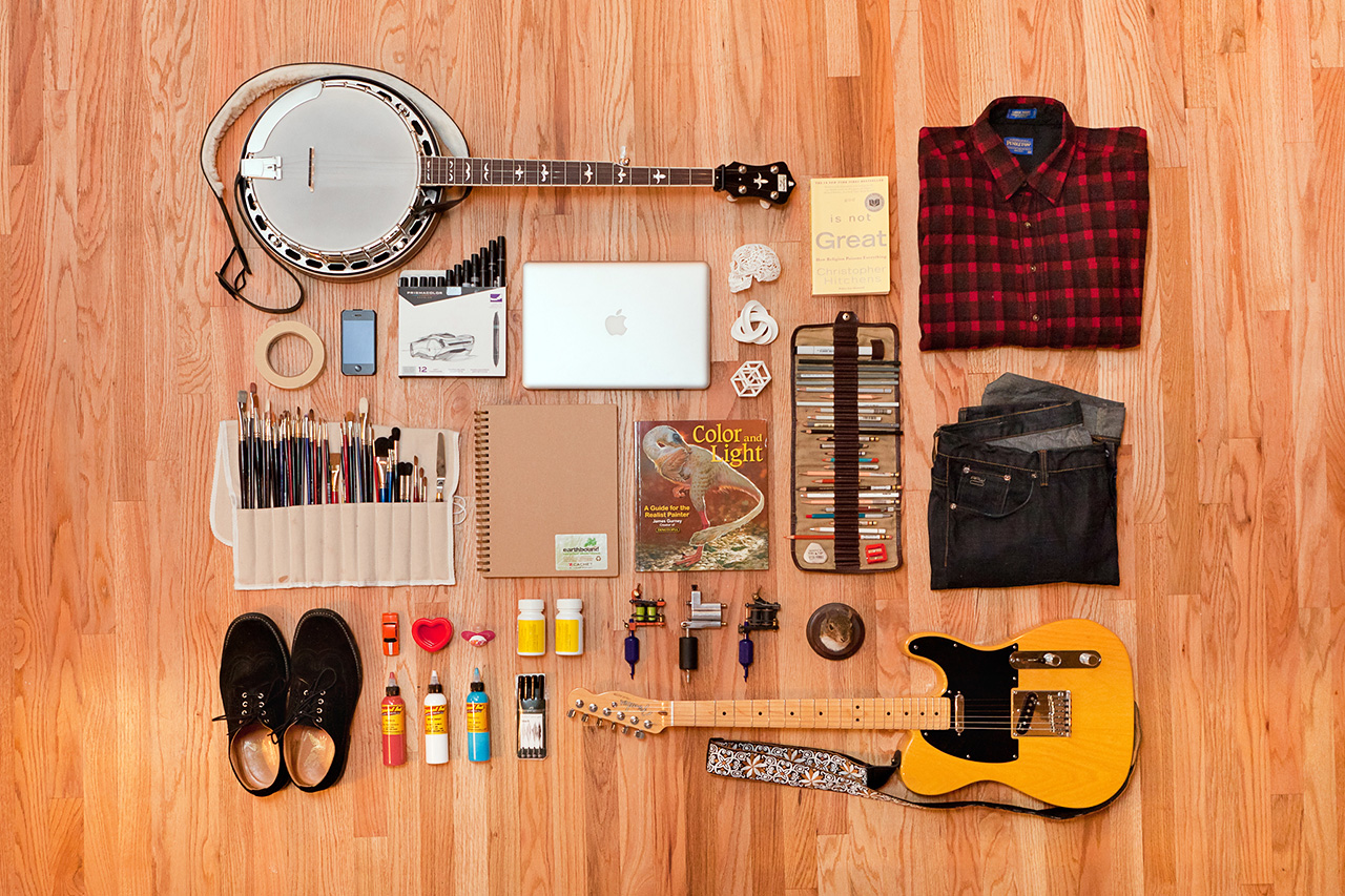 Image of Essentials: Russ Abbott of Ink & Dagger