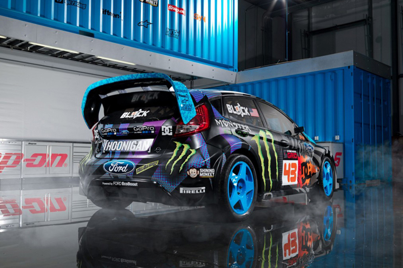Image of Ford Unveils the Fiesta ST GRC