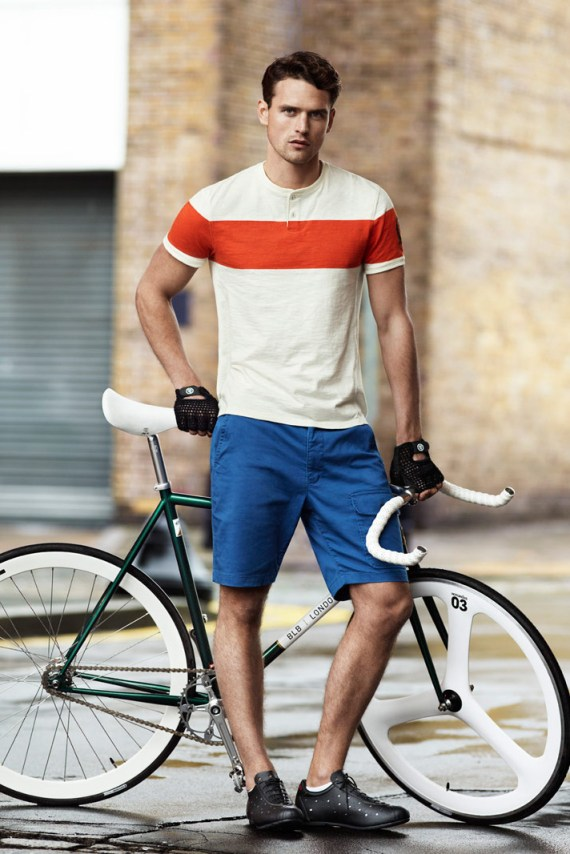 Image of H&M for Brick Lane Bikes Lookbook