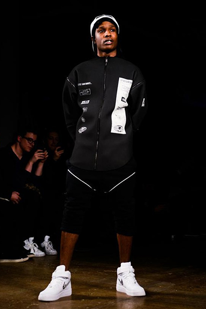 Image of Hood By Air 2013 Fall/Winter &quot;Boychild&quot; Runway Show featuring A$AP Rocky