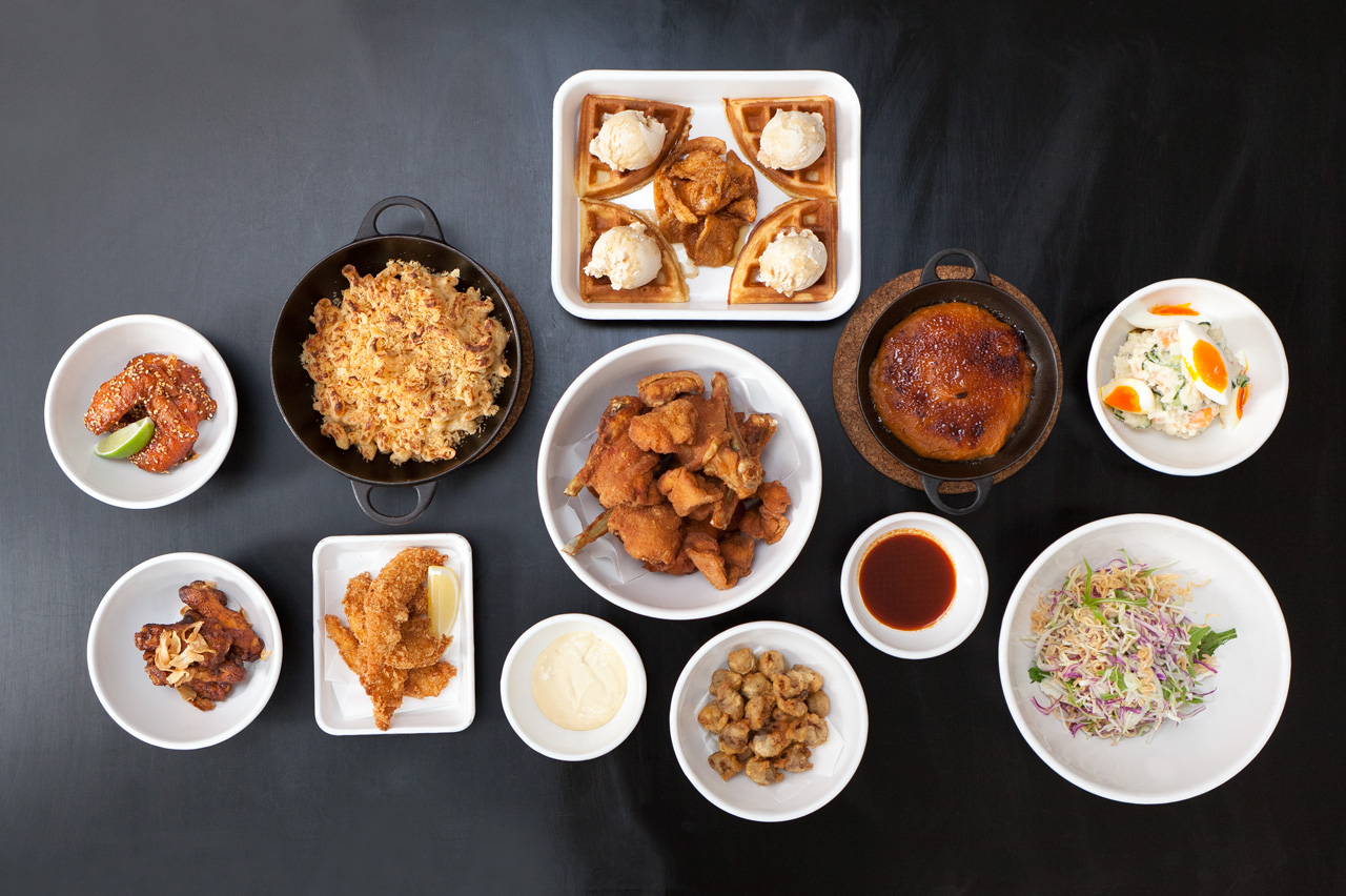 Image of HYPEBEAST Eats… Stussy x Yardbird Fried Chicken Feast