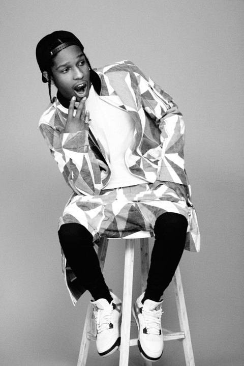 "Image of i-D Magazine 2013 Pre-Spring ""Alphabetical"" Issue with A$AP Rocky Preview"