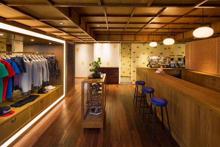 Image of Inside Maison Kitsuné and Kitsuné Cafe Tokyo
