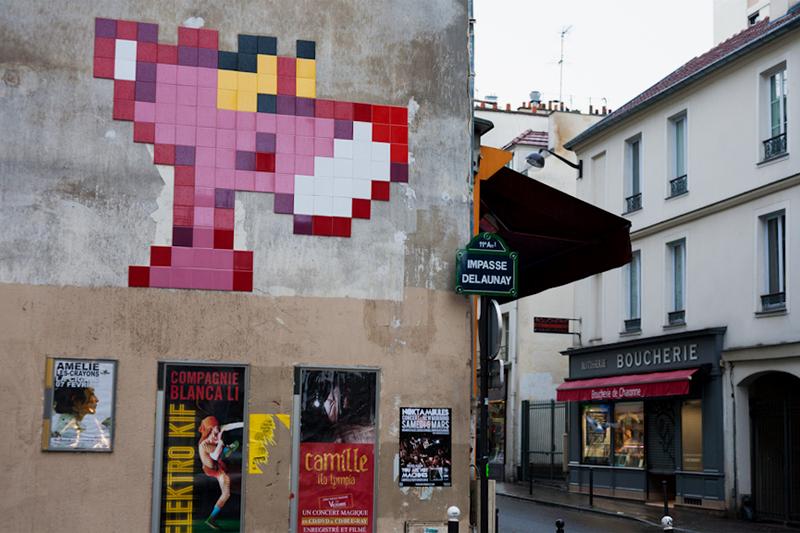 Image of Invader in Paris