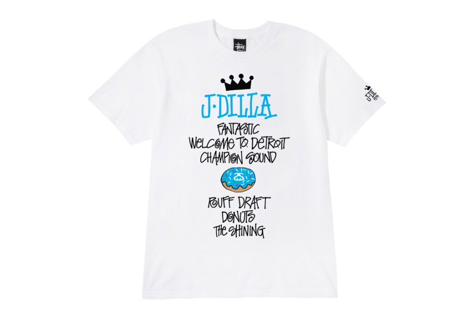 Image of J Dilla x Stussy World Tour Tee