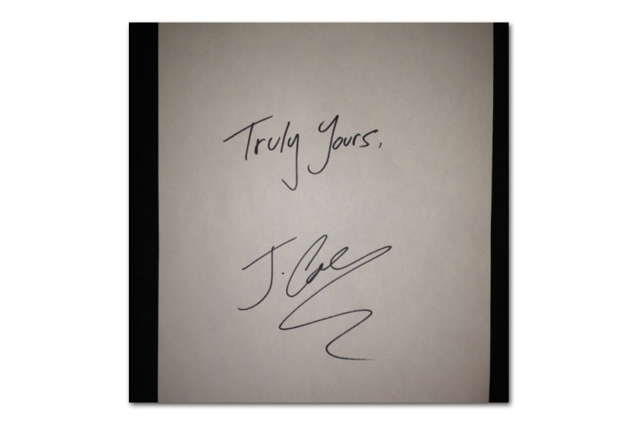 Image of J. Cole – Truly Yours EP