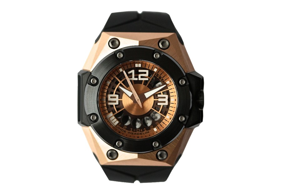 Image of Linde Werdelin Oktopus II Moon Rose Gold