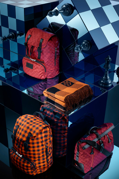 Image of Louis Vuitton 2013 Spring Damier Signature Collection
