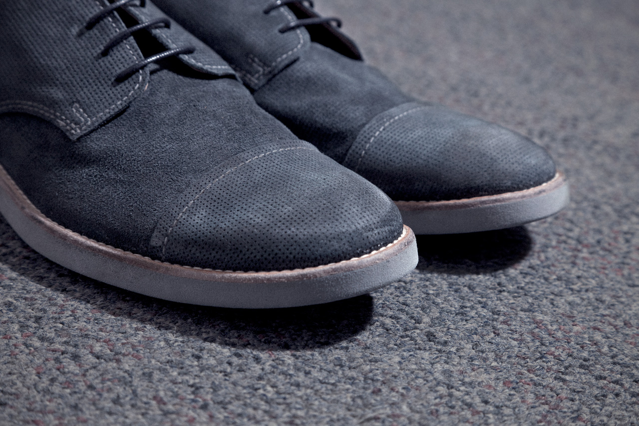 Image of Maison Martin Margiela 2013 Spring/Summer Mould Treated Crust Leather Oxford