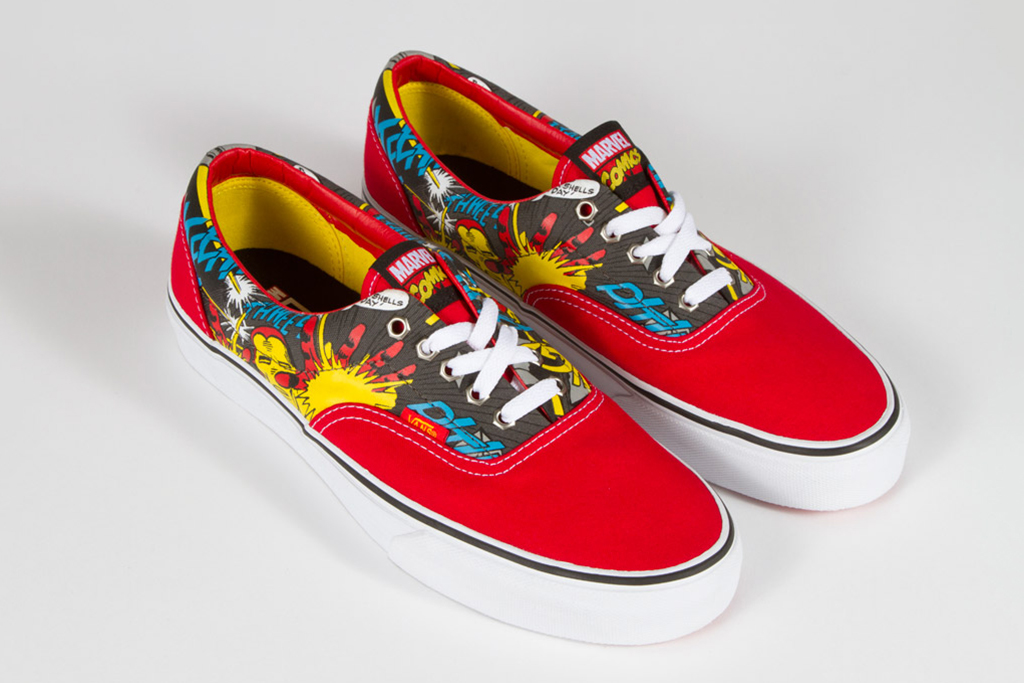 Image of Marvel x Vans Classics 2013 Spring Collection