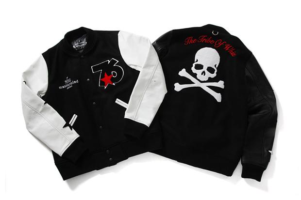 Image of mastermind JAPAN x WHIZ LIMITED LUMP Tokyo 10th Anniversary Varsity Jacket