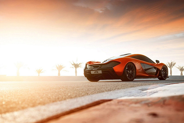 Image of McLaren P1 Super Sports Car Captured by George Williams
