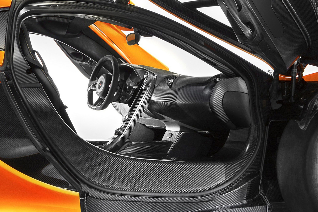 Image of McLaren Unveils Official Photos of the P1