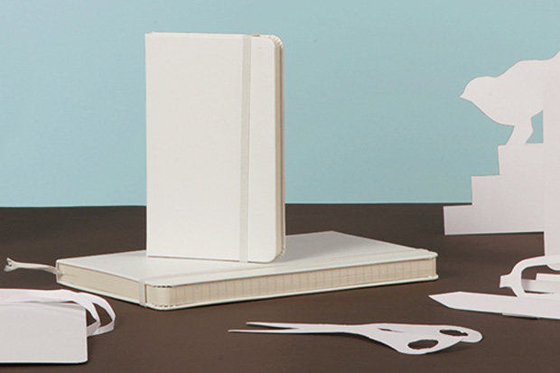 Image of Moleskine Introduces White Notebooks