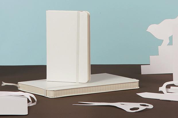 Image of Moleskine Introduces White Notebooks