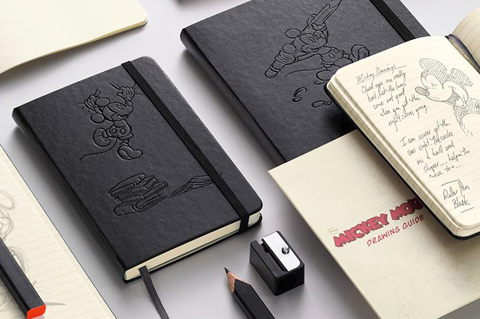 Image of Moleskine Mickey Mouse Limited Edition Notebooks