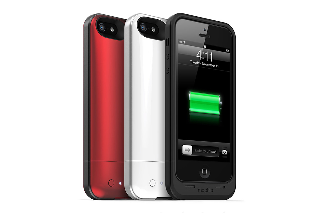 Image of mophie iPhone 5 Juice Pack Air Battery Case