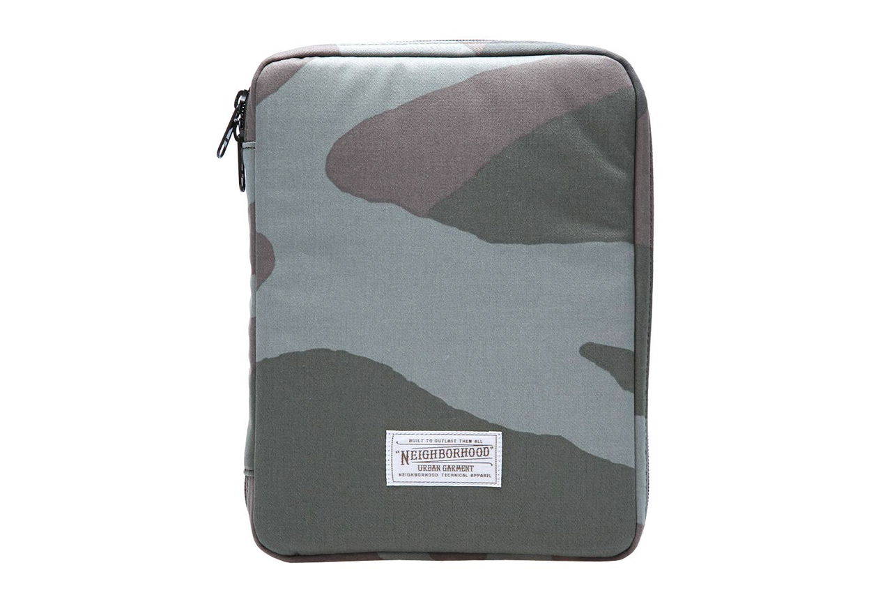 Image of NEIGHBORHOOD x Porter Woodland Camo iPad Case