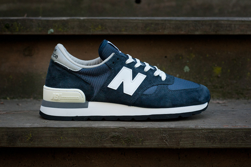 """Image of New Balance 990 """"Made in USA"""" Navy Re-Issue"""