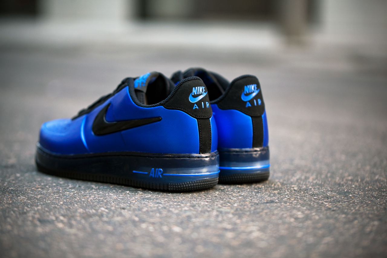 "Image of Nike Air Force 1 Low Foamposite ""Royal"""