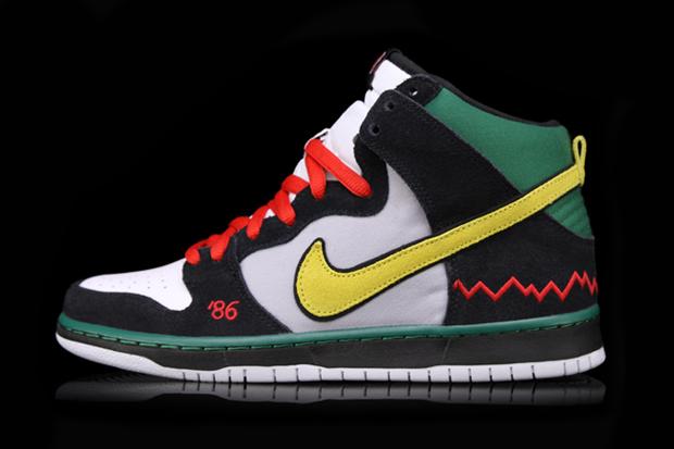 "Image of Nike SB Dunk High Pro QS ""McRad"""