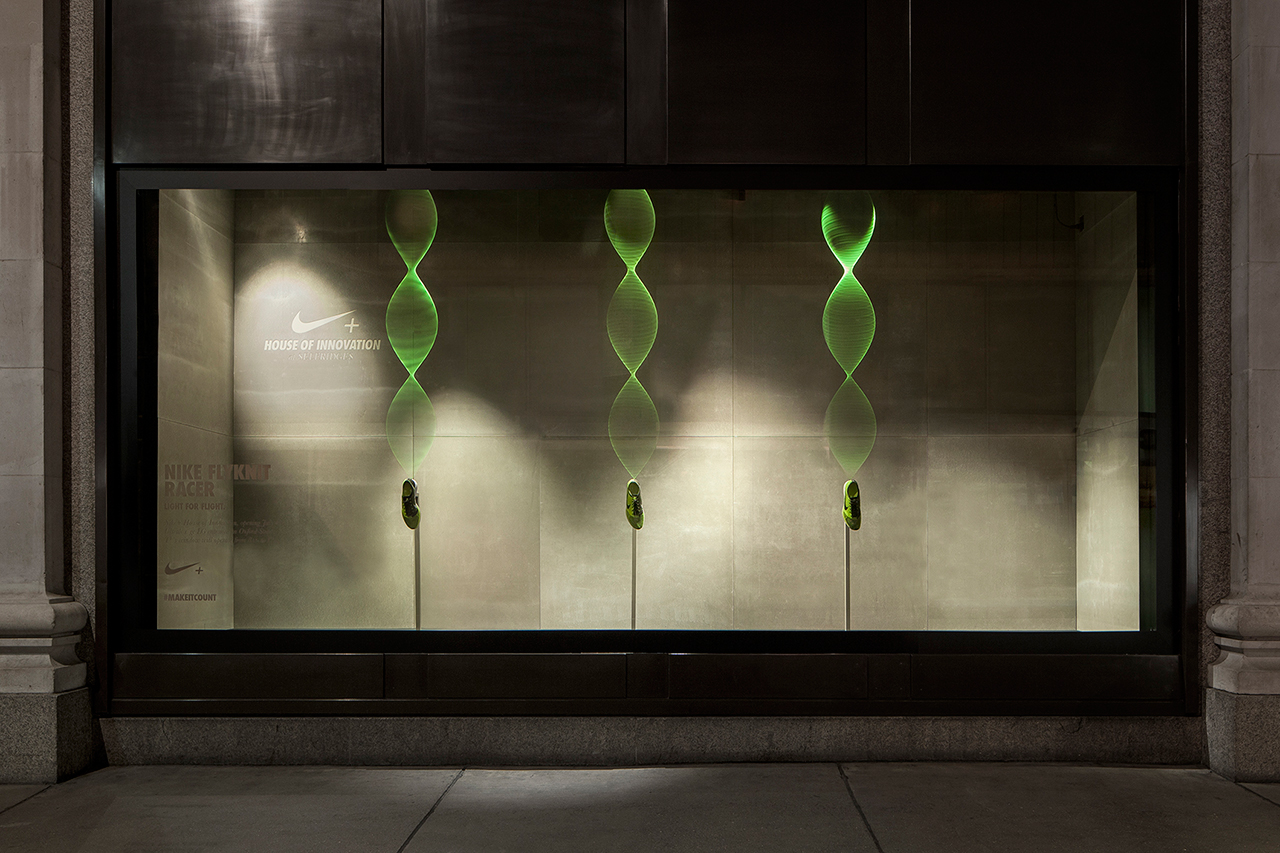 Image of Nike+ House of Innovation Windows at Selfridges  by ...,staat & Nike Brand Design