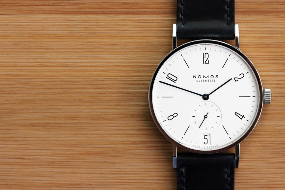 Image of Nomos Tangente Datum Watch