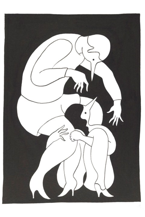 "Image of Parra ""Tracy Had a Hard Sunday"" Exhibition @ Jonathan LeVine Gallery Recap"