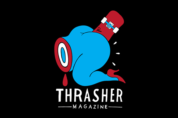 Image of Parra x Thrasher &quot;Credit Card&quot; T-Shirt
