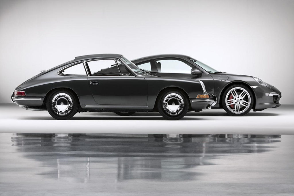 Image of Porsche Celebrates the 50th Anniversary of the 911